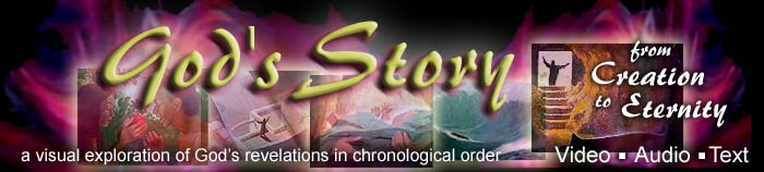 Welcome to the online presentation of God's Story…